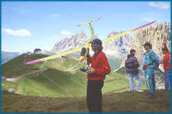 MASTERPIECE-Derivativ für Alpenflug, Gewinner des EUROmeetings am Pordoi 1998